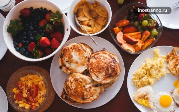 Идеи вариантов завтраков в домашних условиях на отдыхе