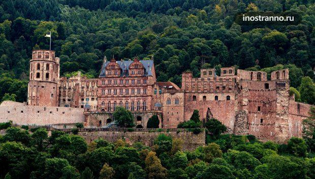 Замок Гейдельберг