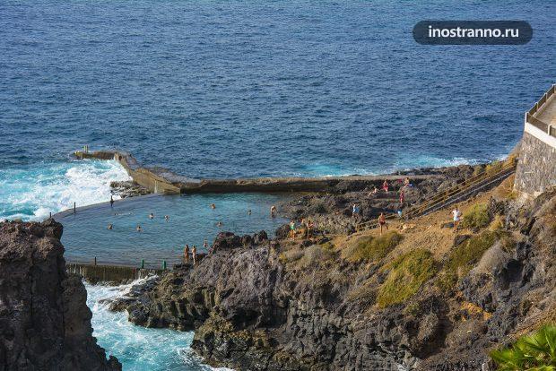 Природный бассейн на Тенерифе