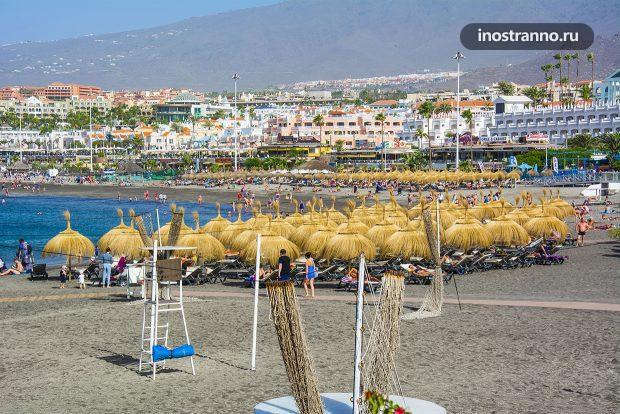 Пляж Торвискас, Тенерифе Испания