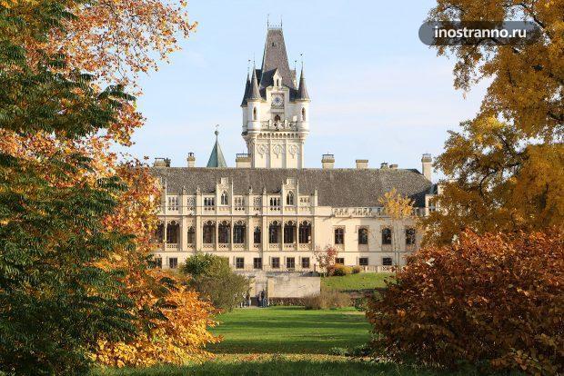 Замок Графенегг в Австрии