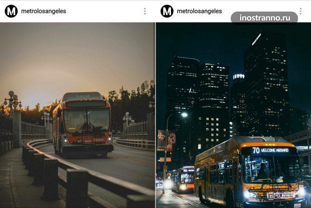 Лос-Анджелес автобус