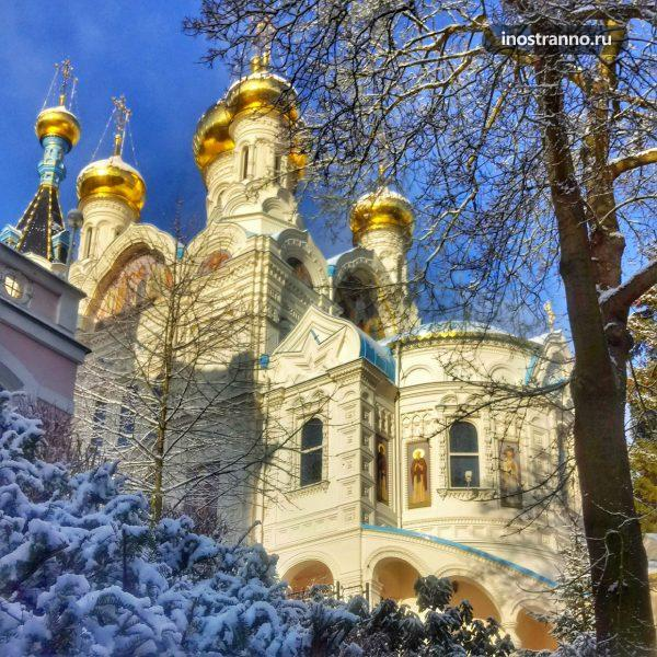 Петропавловская церковь Карловы вары