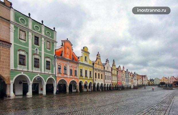 Куда поехать из Праги, города Тельч