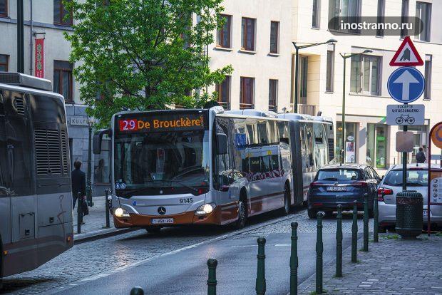 Автобусы в Брюсселе Общественный Транспорт