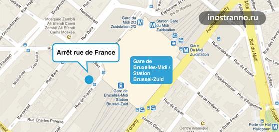Из Брюсселя добраться до аэропорта Шарлеруа