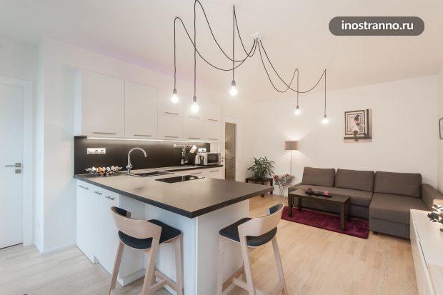 Апартаменты в праге недорого с кухней