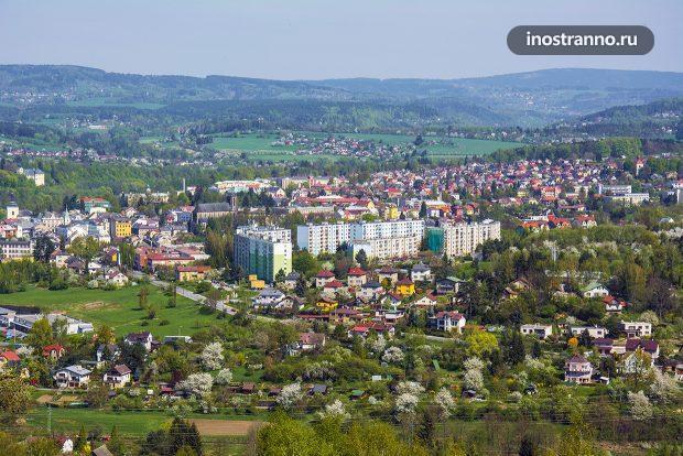 Богемский город Турнов