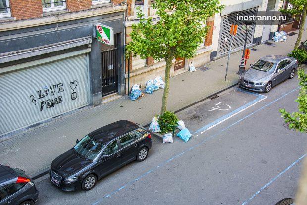Вывоз мусора в Европе
