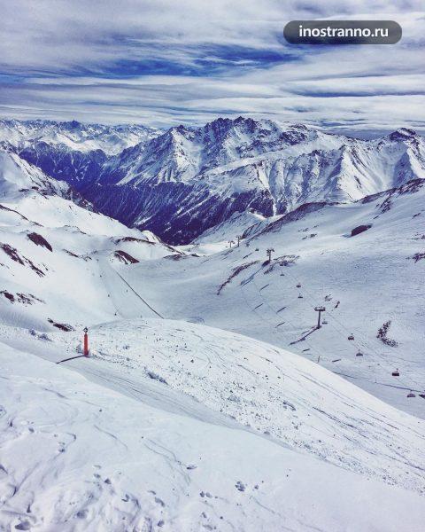Гора Greitspitze в Ишгль