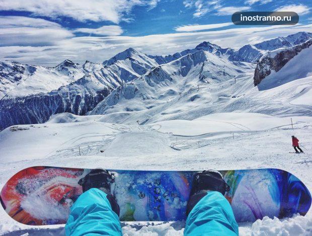 Ишгль, Тироль горнолыжный курорт Австрии