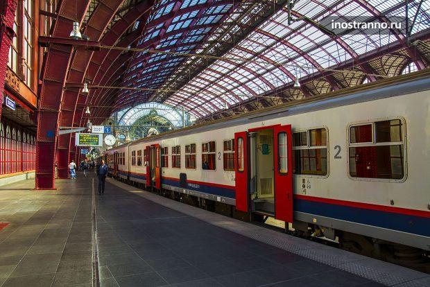 Поезда в Бельгии