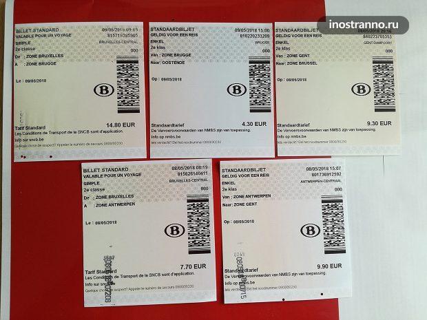 Цены на поезда в Бельгии из Брюсселя до Антверпена, Гента, Брюгге, Остенде
