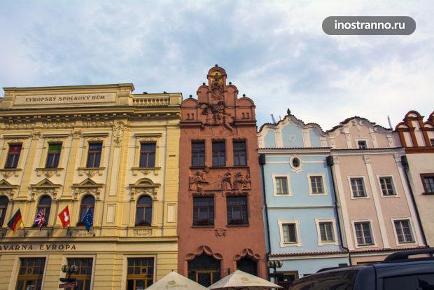 Исторические дома в Пардубице
