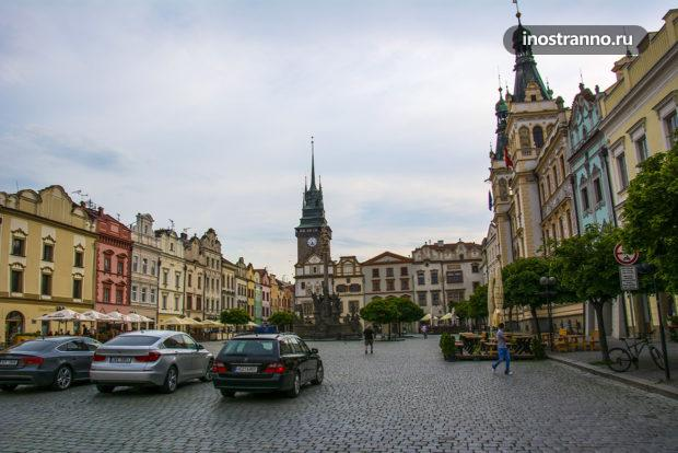 Главная площадь Пардубиц