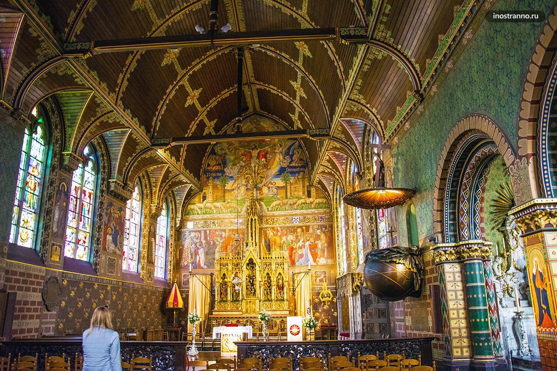 Базилика Святой крови в Брюгге, где хранится капля Христа