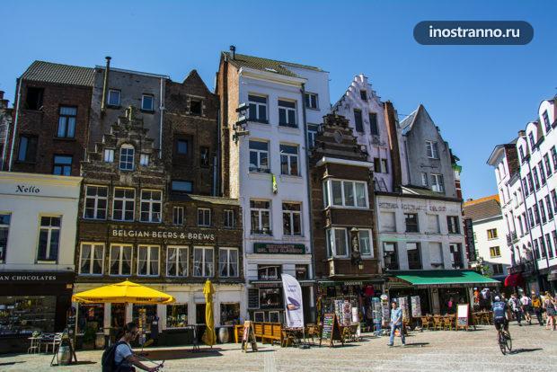 Рестораны и магазины Бельгии