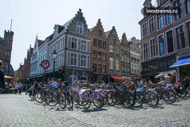 Велосипеды в Бельгии, Брюгге