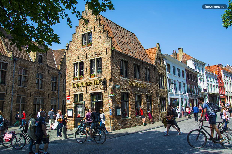 Пивной ресторан в Брюгге
