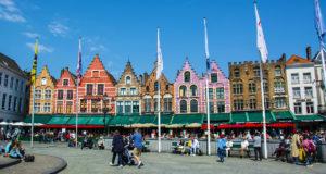 Главные площади бельгийских городов: Брюссель, Брюгге, Антверпен