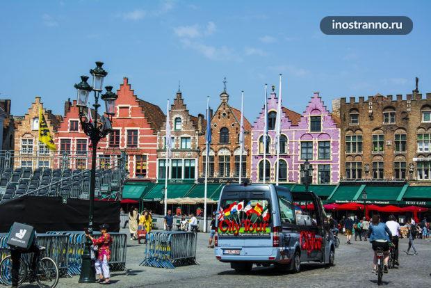 Рыночная площадь в Брюгге