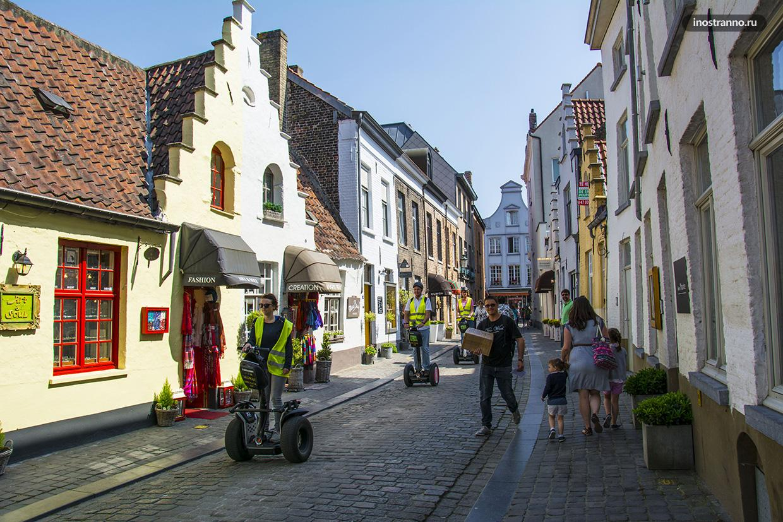 Экскурсия по Брюгге на сегвее