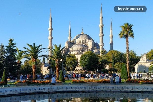 Площадь Ипподром и Площадь Султанахмет в Стамбуле