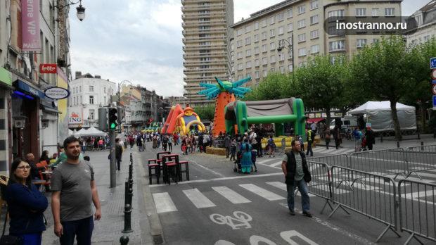 Праздник в Брюсселе