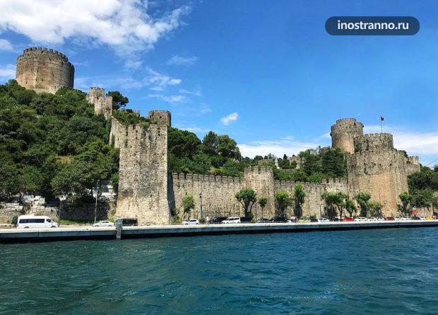 Крепость Румелихисар в Стамбуле