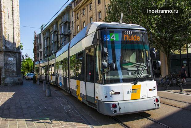 Трамвай в Бельгии
