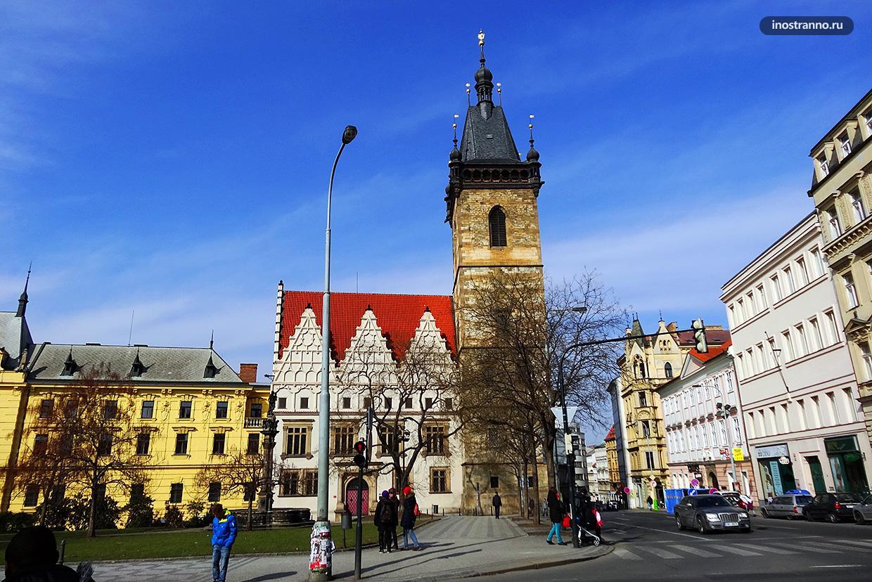 Новоместская Ратуша в Праге на Карловой Площади