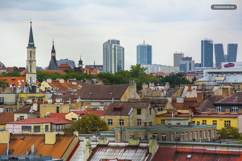 Небоскребы Прага 4