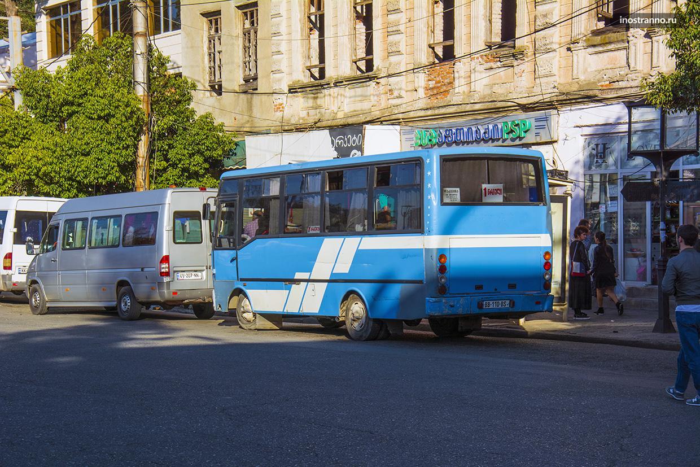 Автобус в Кутаиси