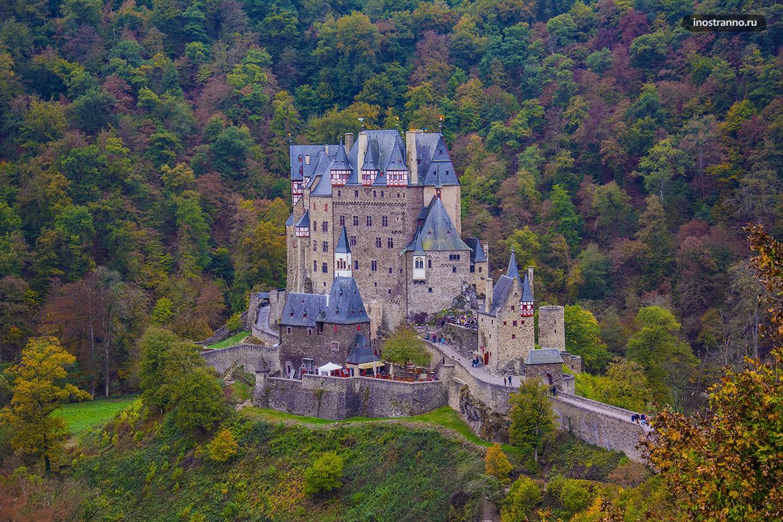 Самый красивый немецкий замок Эльц