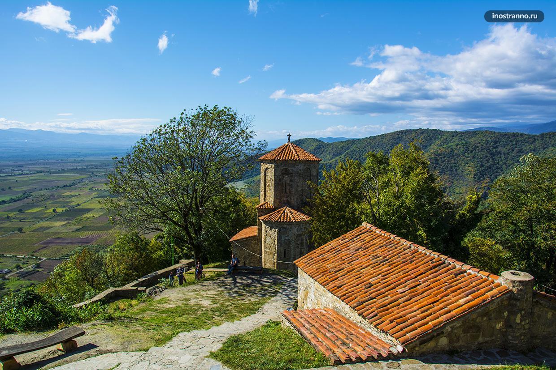 Монастырь Некреси в Грузии, Алазанская долина
