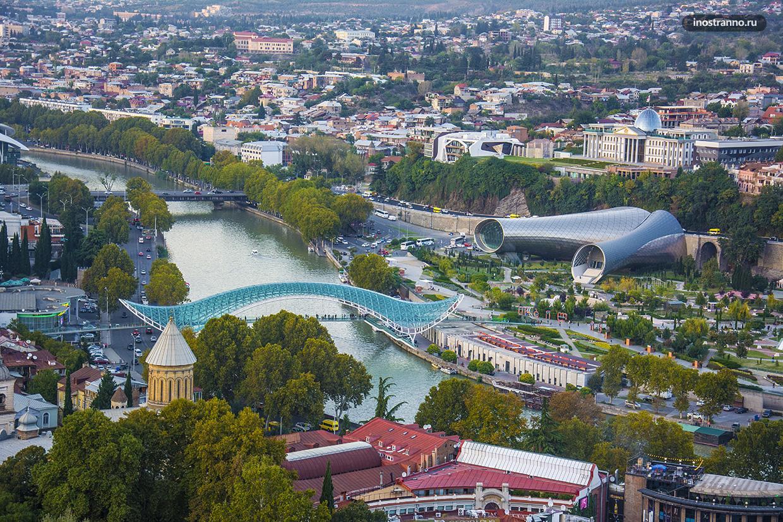 Панорама Тбилиси