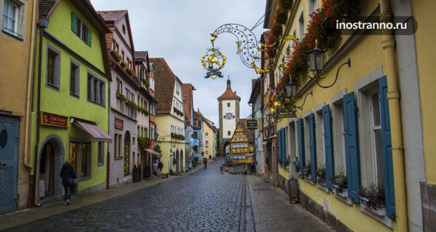 Ротенбург-на-Таубере – город, где Рождество не заканчивается никогда