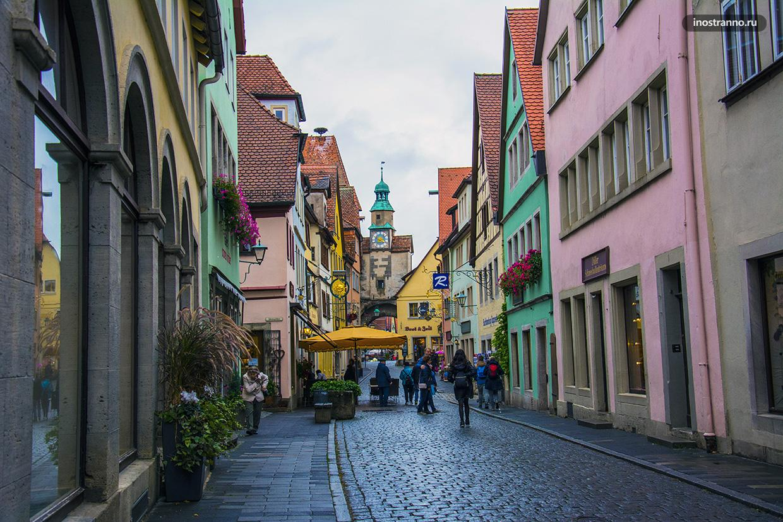 Ротенбург-на-Таубере история города