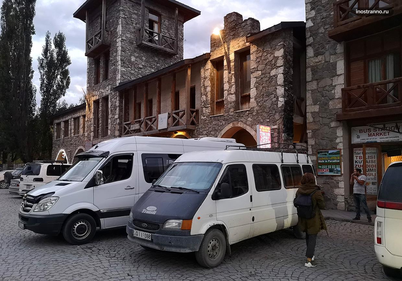 Маршрутное такси в Местии