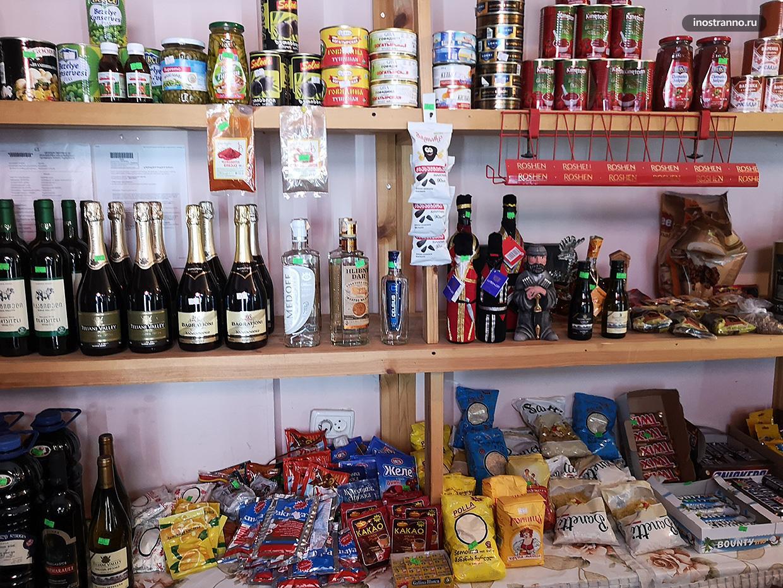 Магазин в Местии в Грузии