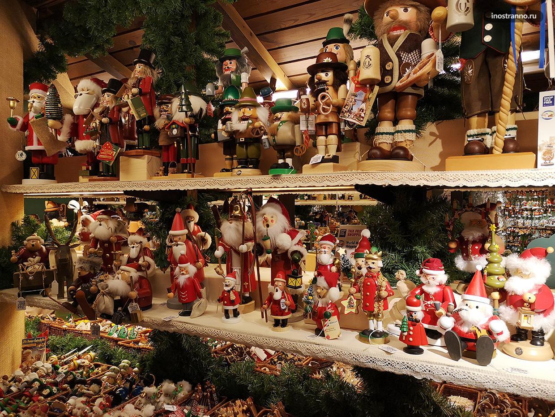 Ротенбург-на-Таубере магазин с рождественскими игрушками