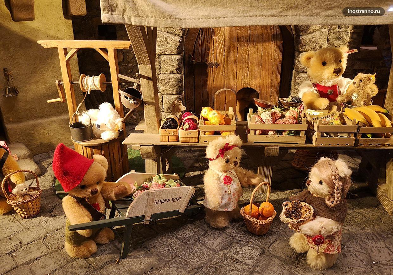Магазин с плюшевыми мишками