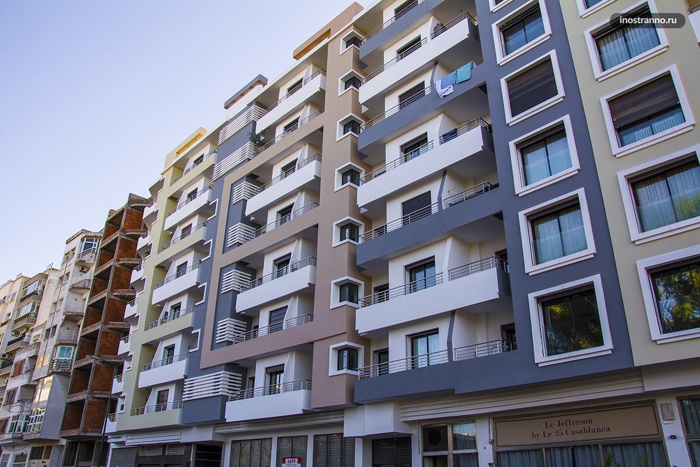 Новостройка в Касабланке