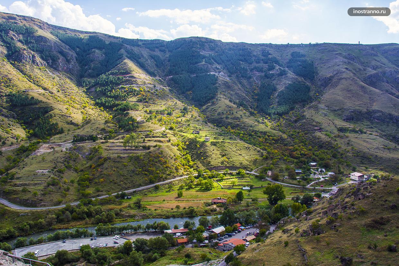 Панорама реки Кура