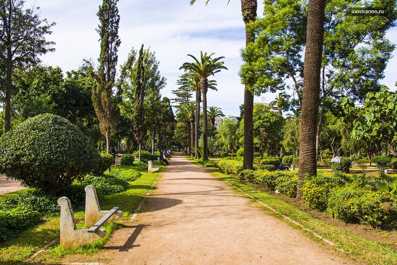 Парк в Касабланке