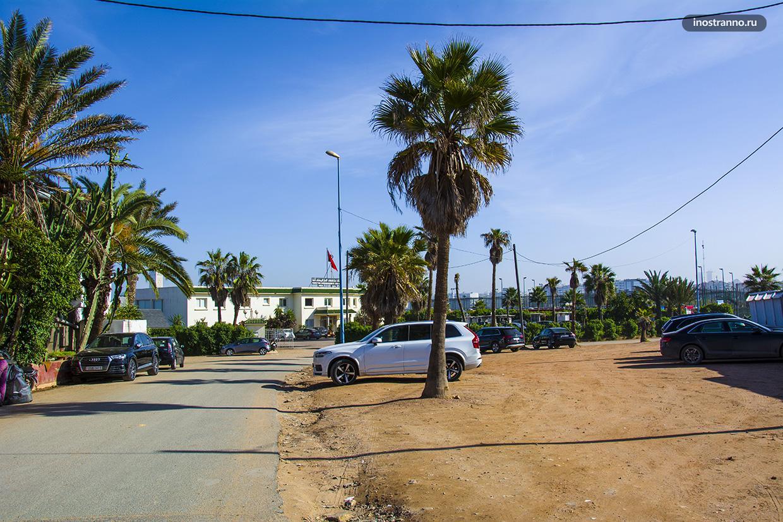 Как паркуются в Африке