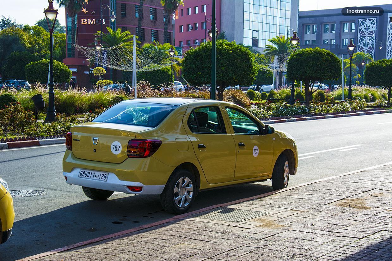 Такси в Марракеше, стоимость проезда