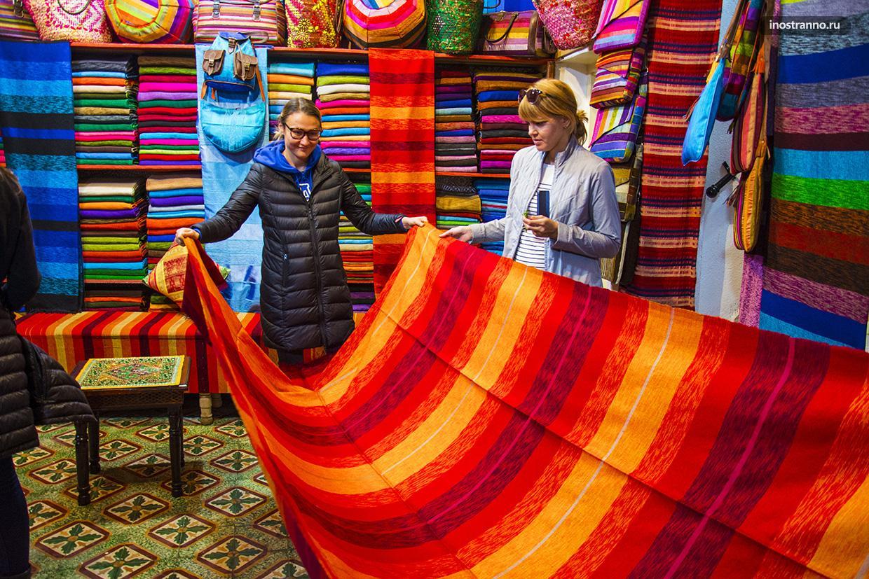 Магазин в марокканском городе Фес