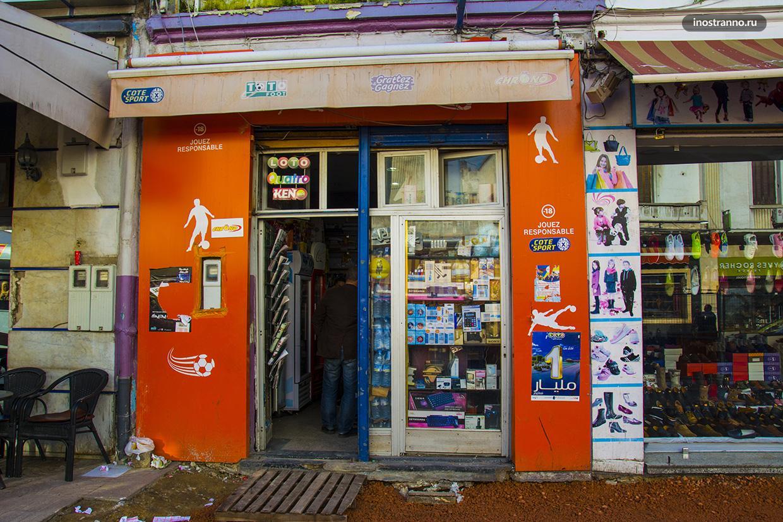 Магазин в Марокко