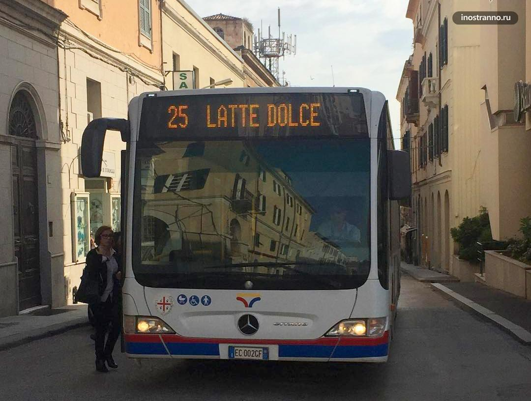 Автобус в Катании